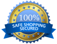 100% Safe Shopping Secured
